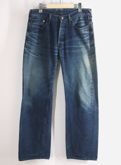 (Made in JAPAN) R by 45RPM selvage denim pants(34)