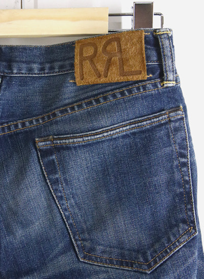 (Made in U.S.A.) RRL RALPH LAUREN selvage denim pants